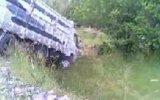 sivas imranlı köyünde kamyon kazası
