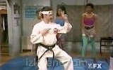 jim carrey - karate instructor