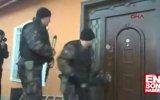 Konya'da Baskına Giden Polisin Çelik Kapı İle İmtihanı