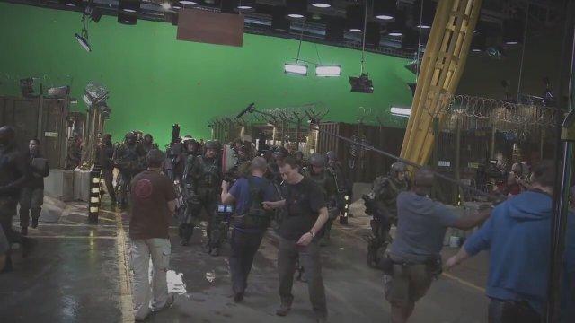 Edge of Tomorrow Kamera Arkası Görüntüleri