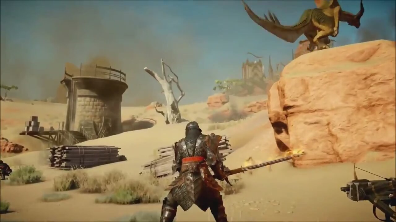 dragon age inquisition ps4 gameplay video. Black Bedroom Furniture Sets. Home Design Ideas