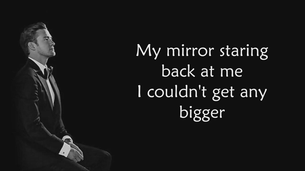 Justin timberlake mirrors song lyrics for Mirror mirror lyrics