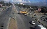 Erzincan'da Dikkatsiz Sürücüler Mobese'lere Takıldı