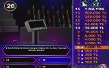 Kim Milyoner Olmak İster Oyununun Oynanış Videosu