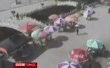 Çin'in Yunnan Eyaletinde Deprem Anı
