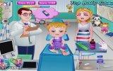 Hazel Bebeğin Bacağındaki Yarayı İyileştir Oyunu