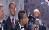 Avrupa'da Yılın Futbolcusu Ödülü Ronaldo'nun Oldu