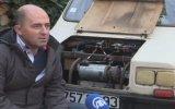 Çamaşır Makinesi Motorundan Elektrikli Araba