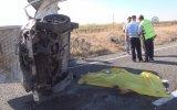 Siverek'te otomobil devrildi: 1 ölü - ŞANLIURFA