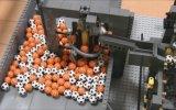 Legolarla Yapılmış Mini Fabrika