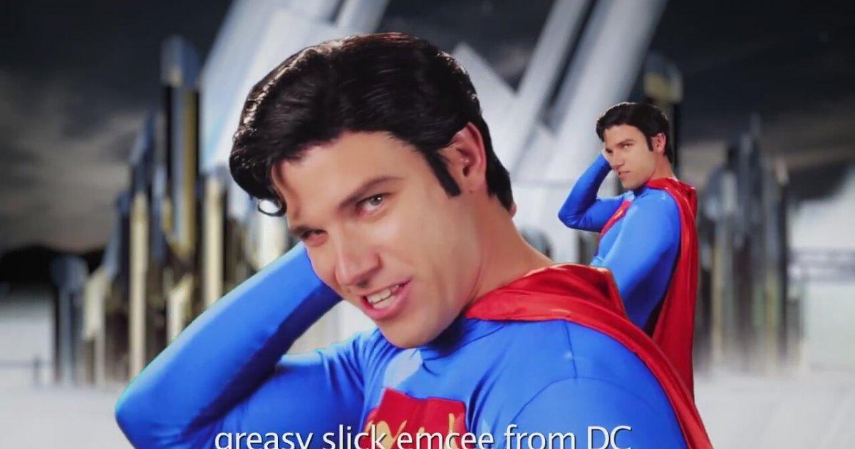 Goku Vs Superman. Epic Rap Battles Of History Season 3.   İzlesene ...