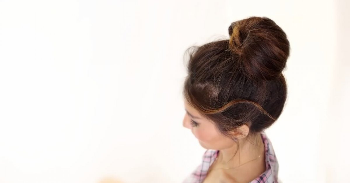 Minute Bubble Bun Hairstyle | Easy Hairstyles For Medium Long Hair