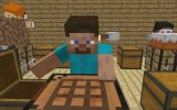 [Minecraft animation] Minecraft player School - Crafting