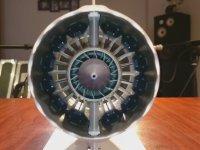 Üç Boyutlu Yazıcıyla Üretilen Boing B787 Jet Motoru
